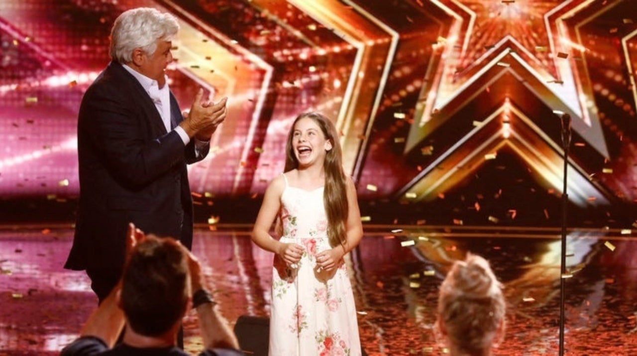 America's Got Talent': Jay Leno Uses His Golden Buzzer on 10