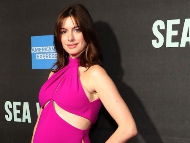 Anne Hathaway Debuts Baby Bump on Red Carpet With Ravishing Pink Dress