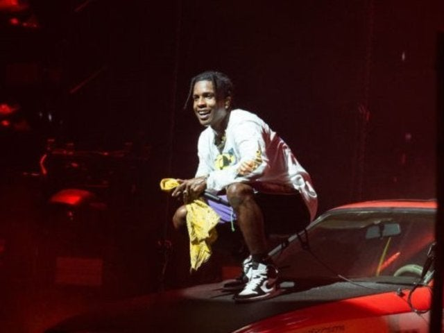 Watch A$AP Rocky Return Home to the US in Fashionable Headscarf