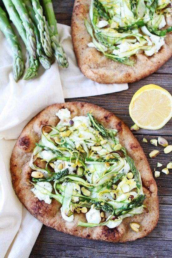 Asparagus-Goat-Cheese-and-Pistachio-Flatbread-3