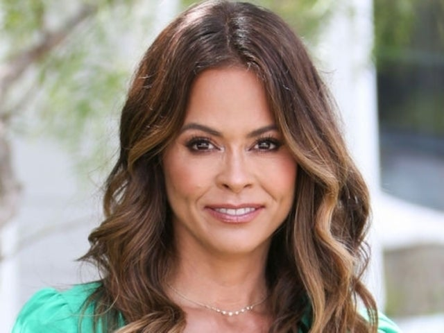 Former 'Dancing With the Stars' Host Brooke Burke Kisses Mystery Man in Steamy New Photos