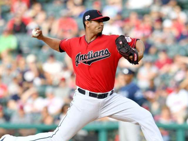 MLB's Carlos Carrasco Throws 97 mph Weeks After Cancer Diagnosis