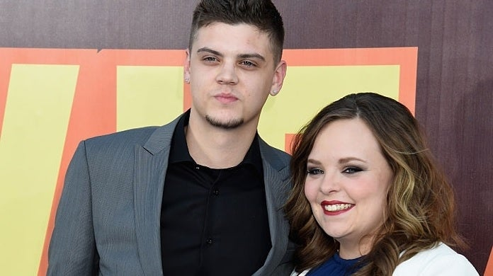 catelynn lowell tyler baltierra 2015 getty images