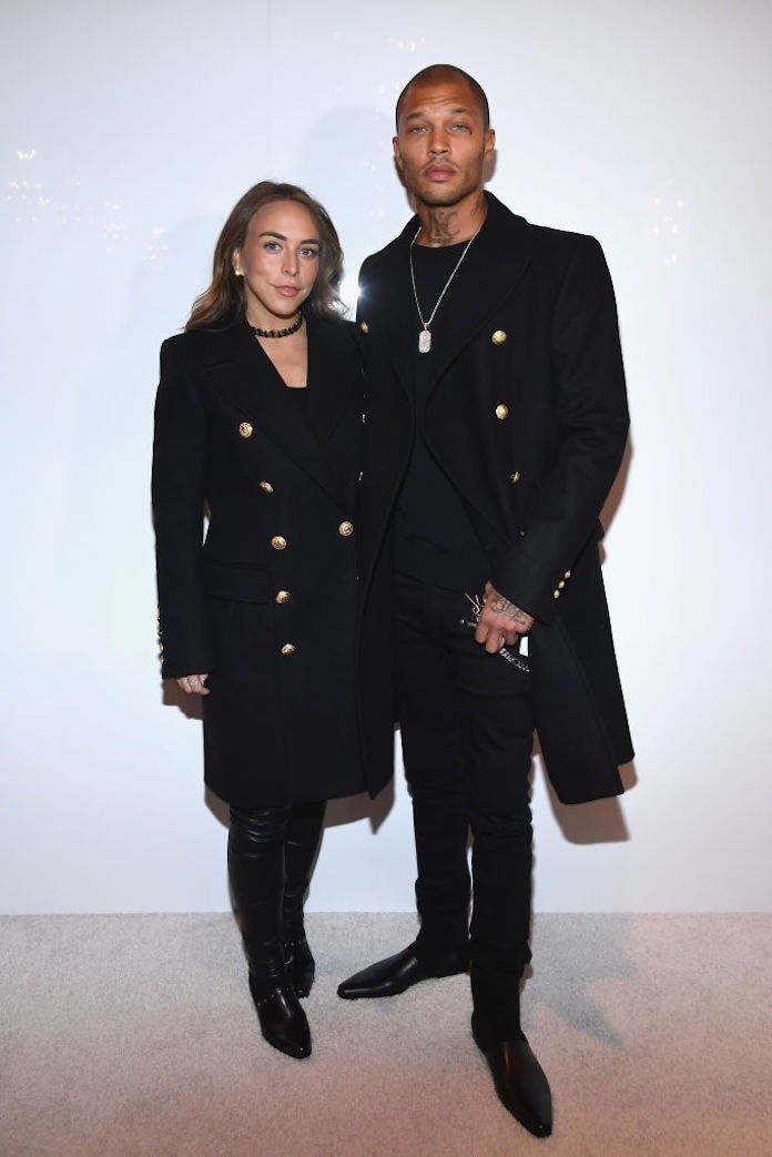 chloe-green-jeremy-meeks_getty-Pascal Le Segretain : Staff