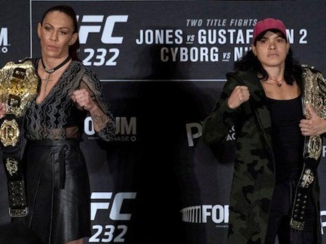 UFC Champion Amanda Nunes Posted This Baby Photo Amid Cris Cyborg Drama