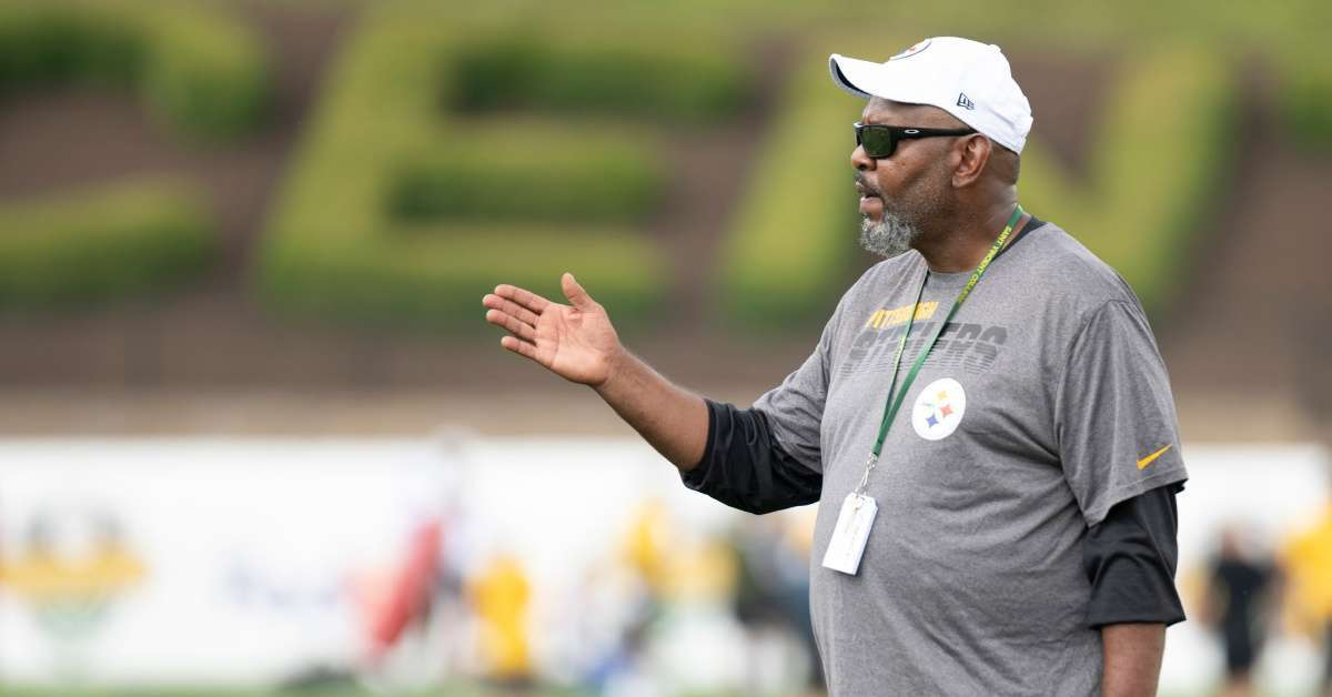 Darrl Drake Steelers replacement wide receivers coach