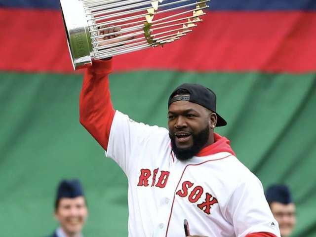 David Ortiz Posts First Photo of Himself Since Shooting, and Fans Are Commenting Like Crazy