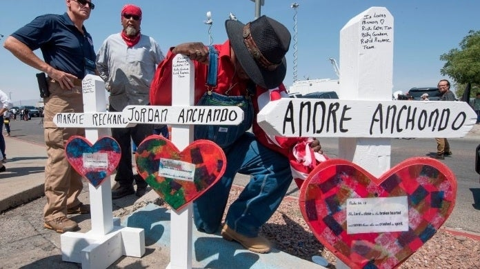 el paso shooting memorial getty images