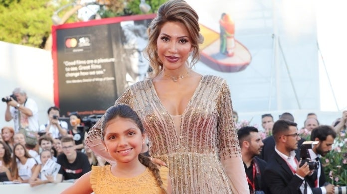 farrah abraham venice sophia getty images