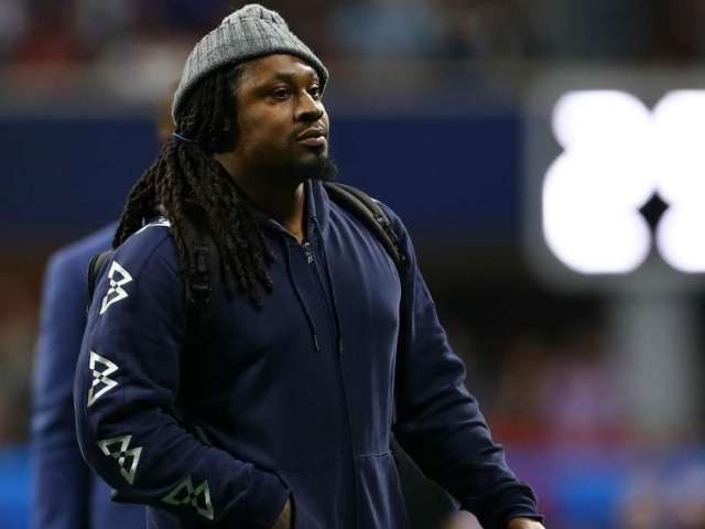Marshawn Lynch Involved in Heated Confrontation With Football Mom: 'Is There a Man Here?'