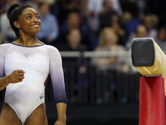 Olympic Champion Simone Biles Sets World Gymnastics Record