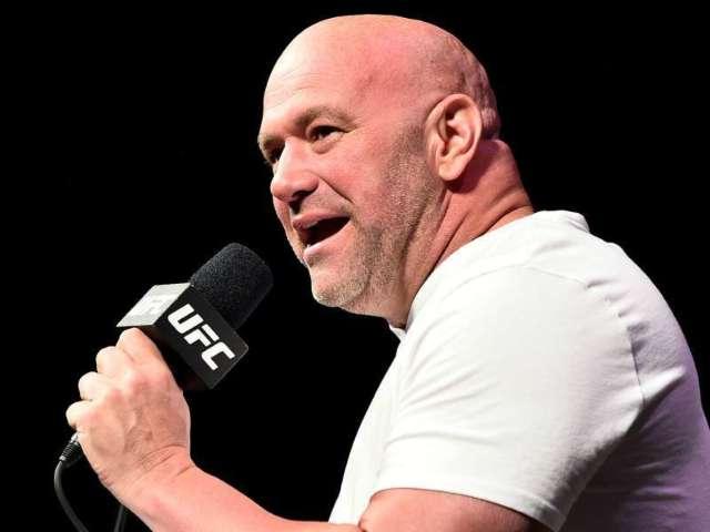 UFC Head Dana White Posts Live Prelims Photo, Cris Cyborg Fan Chimes In