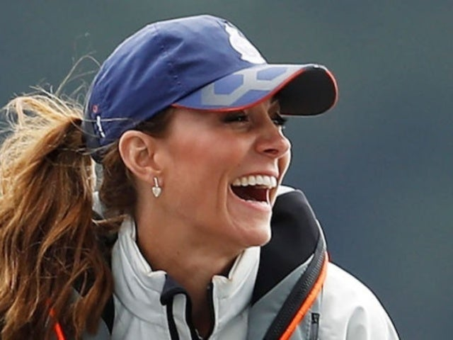 Kate Middleton Debuts Bright Striped Top at the King's Cup Regatta