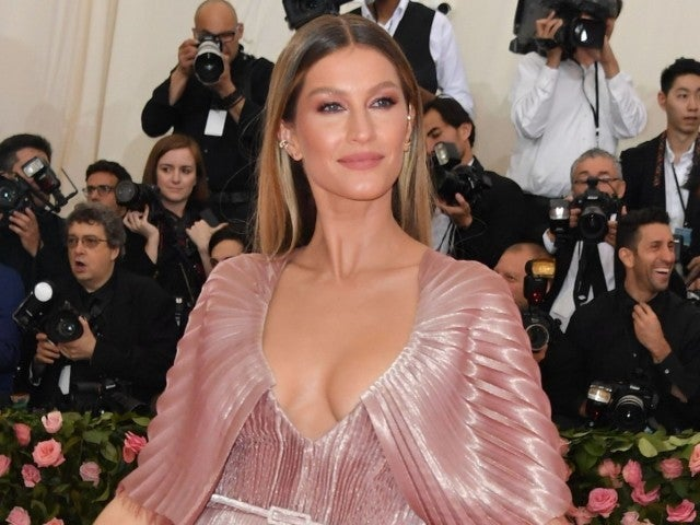 Gisele Bundchen's Breastfeeding Photo Stirs Vibrant Reaction Among Social Media