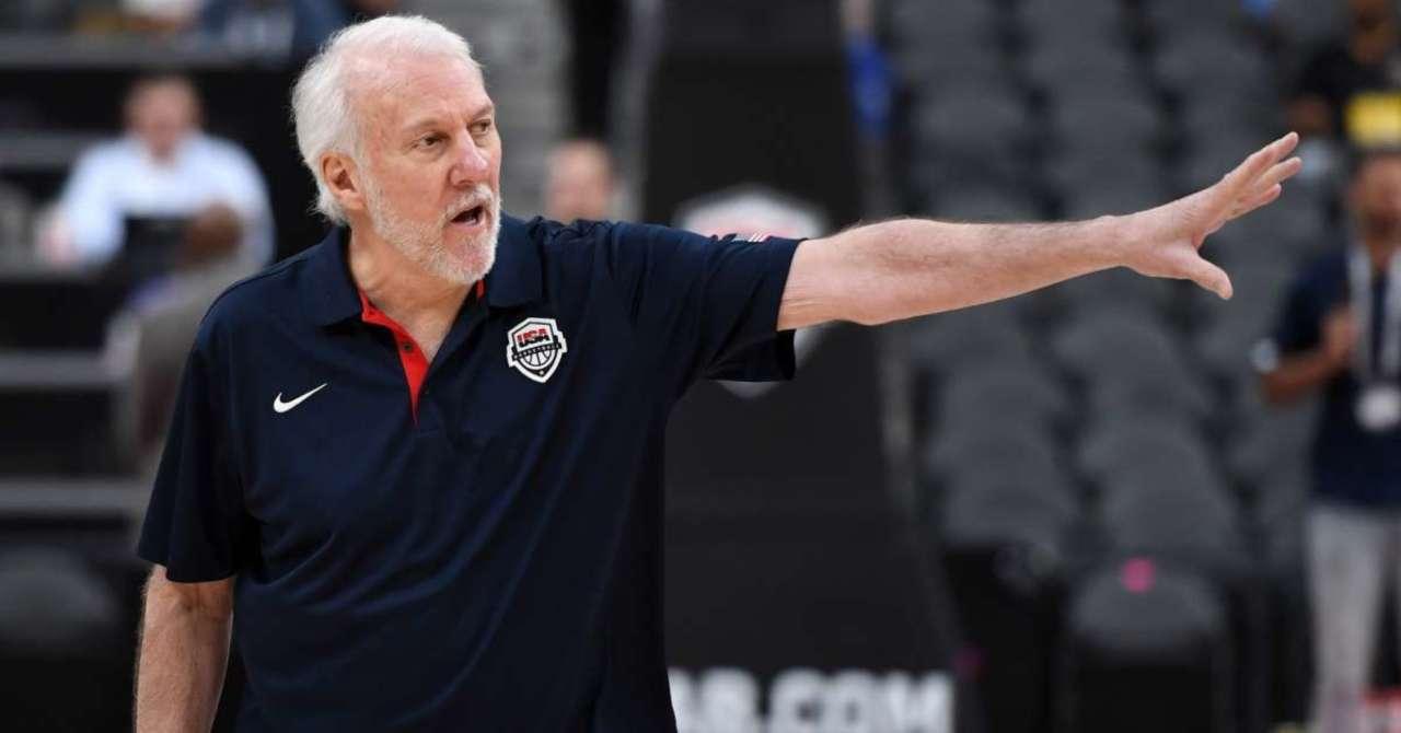 Image result for USA basketball coach Gregg Popovich praises 'patriotic' Colin Kaepernick