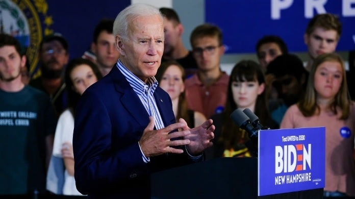 joe biden getty images new hampshire