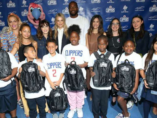 NBA Finals MVP Kawhi Leonard Surprises Every Student in Los Angeles School Districts With Over 1 Million Backpacks
