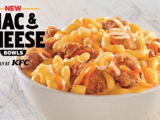 KFC to Sell Mac and Cheese Bowls, and Social Media Cannot Get Enough