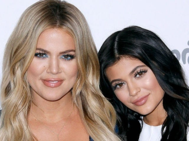 Kylie Jenner and Khloe Kardashian Share Sneak Peek of Boozy Makeup Segment