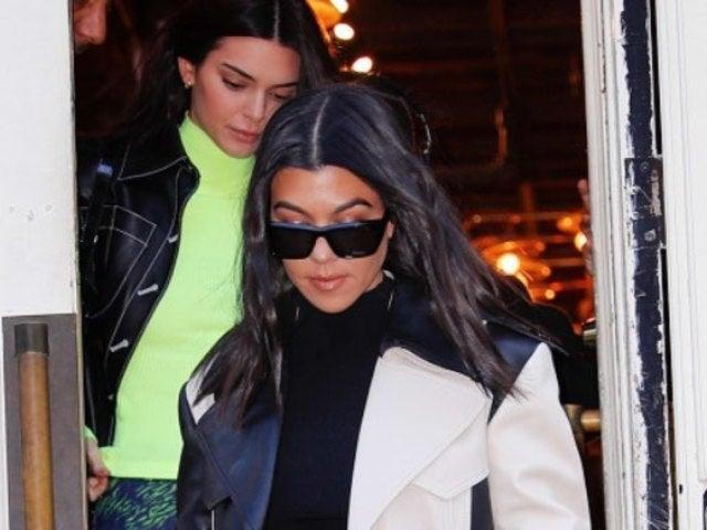 Kourtney Kardashian, Sisters Kendall and Kylie Jenner Bump Into Exes Younes Bendjima, Ben Simmons and Luka Sabbat