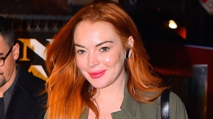 lindsay lohan getty images