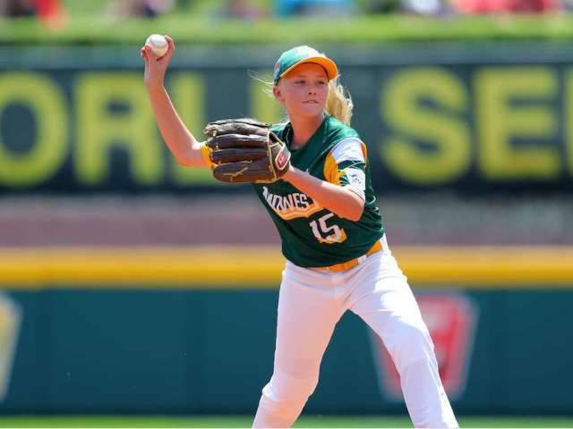 Maddy Freking Becomes First Girl in 5 Years to Play in Little League World Series