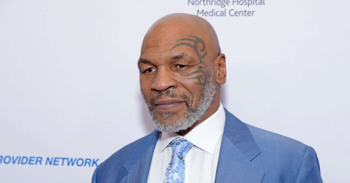 Mike Tyson smokes pot