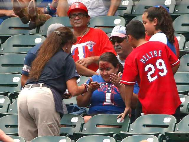 MLB Fan Hospitalized After Being Struck by Foul Ball