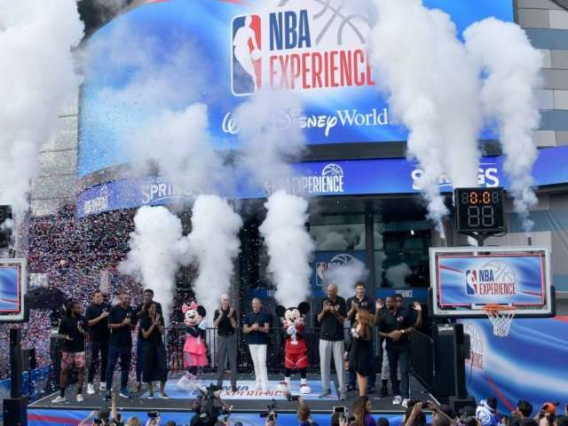 The NBA Experience Opens up at Walt Disney World