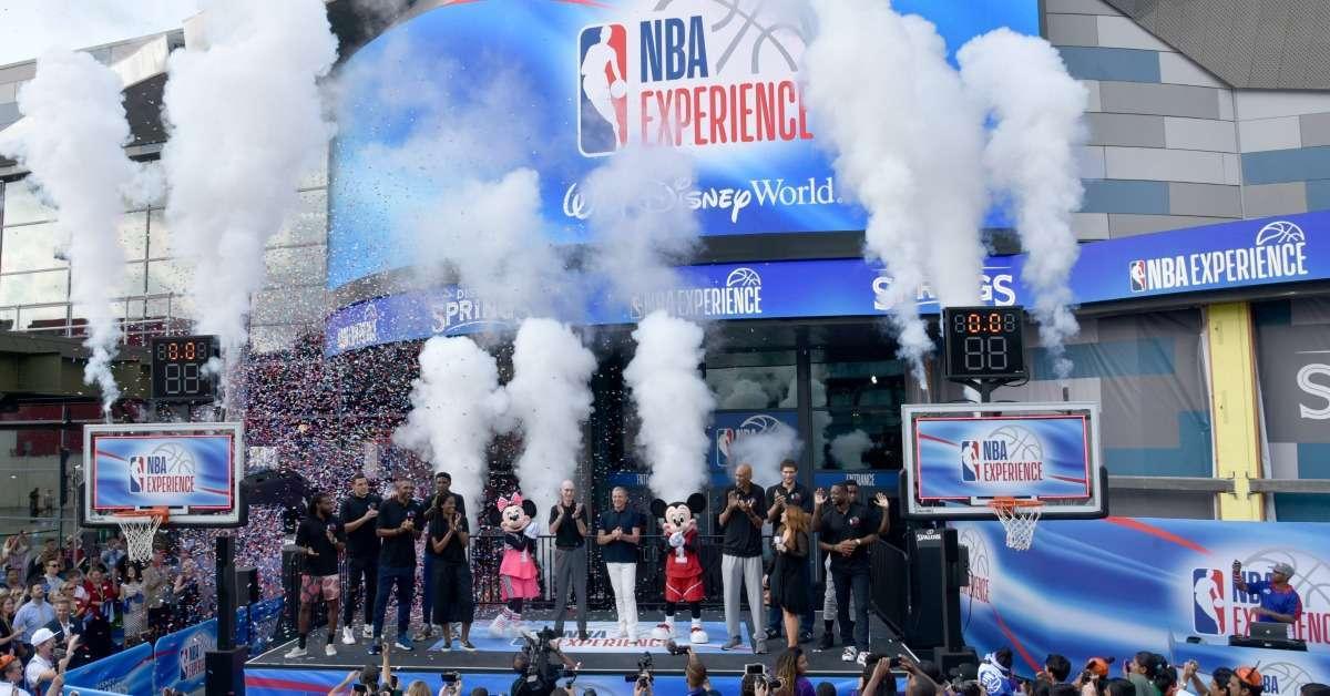 NBA expereince Disney
