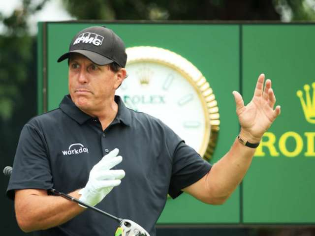 Phil Mickelson Nearly Misses Tee Time Due to Hotel Fire