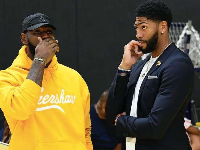 Nike Shuts Down LeBron James, Anthony Davis Jersey Swap
