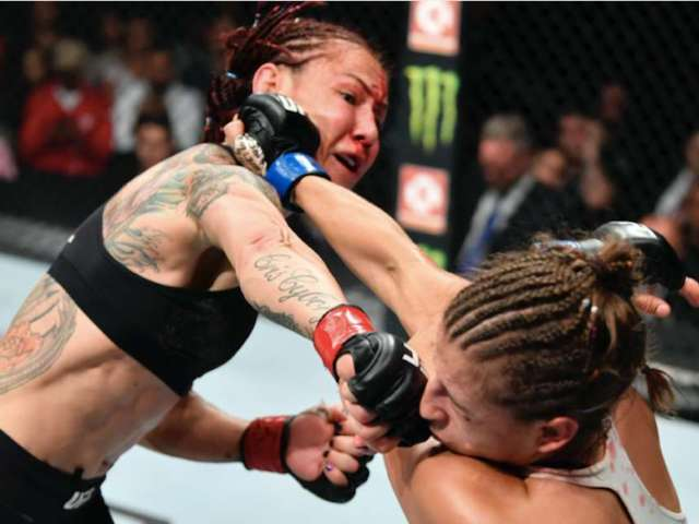 Cris Cyborg Posts Graphic New Photo of Head Split Down Middle With Her Skull Being Revealed Later On