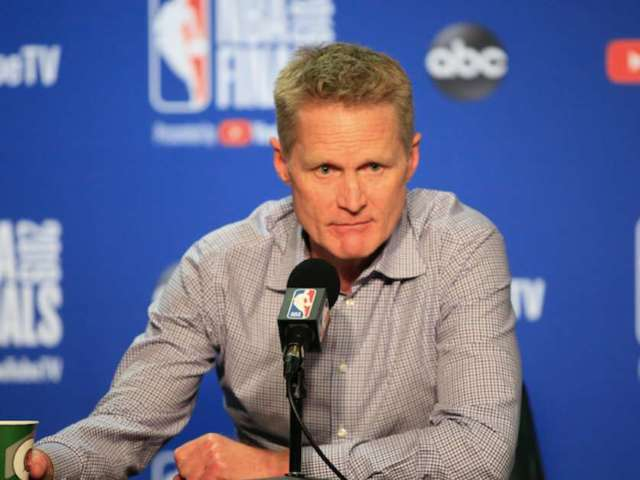 Steve Kerr Fears Warriors Practice Could Be Next Target After Mass Shootings