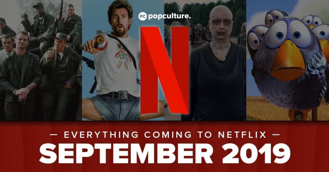 Everything Coming to Netflix in September 2019
