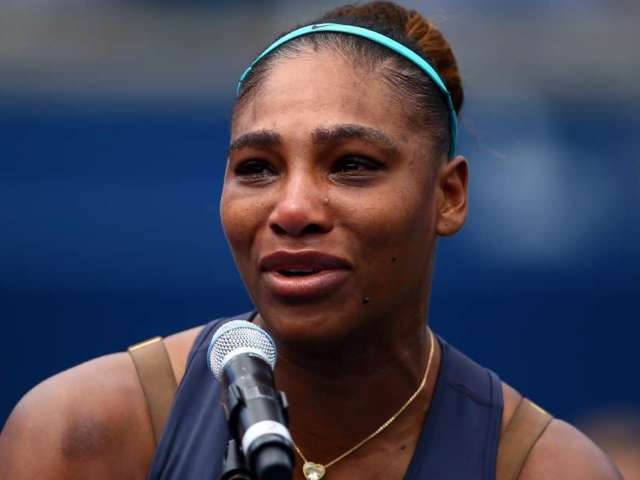 Serena Williams Breaks Down During Rogers Cup Finals Match in Shocking Defeat to 19-Year-Old Canadian After Injury