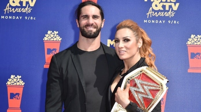 seth rollins becky lynch getty images