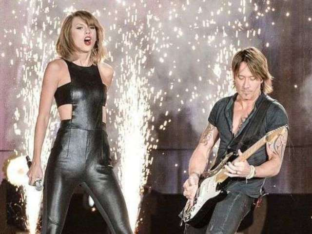 Keith Urban Sings Praises of Taylor Swift's New Song 'Lover,' and Her Reaction Is Priceless