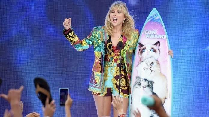 taylor swift teen choice awards fox