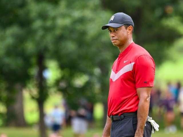 Tiger Woods Announces Arthroscopic Procedure on Left Knee