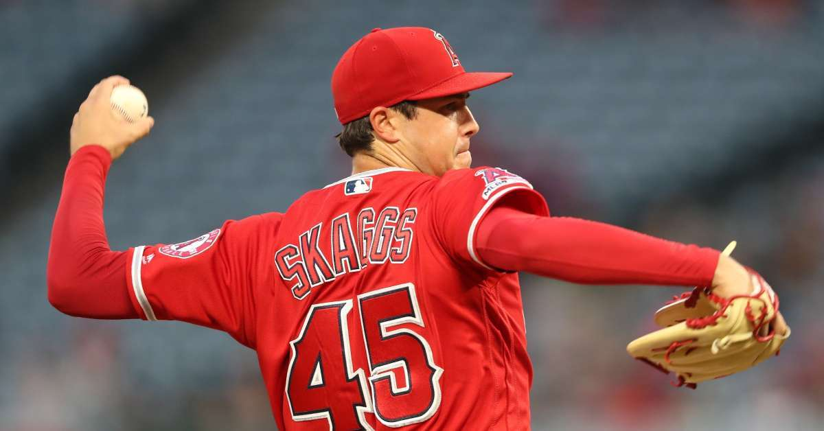 Tyler Skaggs Los Angels Angles Fans Death Comes out reaction