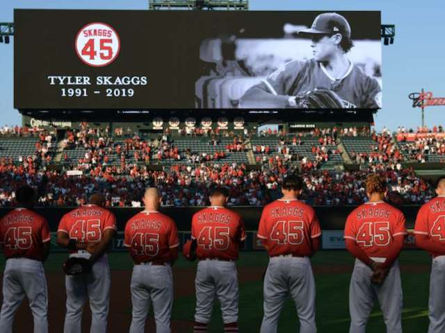 Tyler Skaggs Cause of Death: Angels Fans Speak out About Parents Saying Drugs May Have Been Supplied by Team Employee