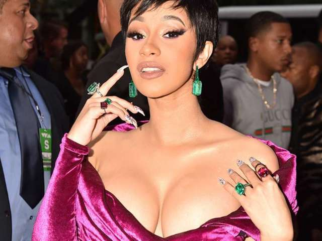 Cardi B Puts Her Spin on a Classic 'Batman' Villain With Her Revealing Poison Ivy Costume