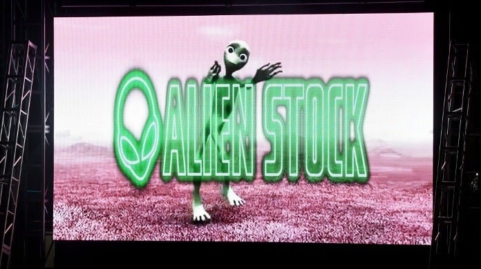 alien stock logo getty images