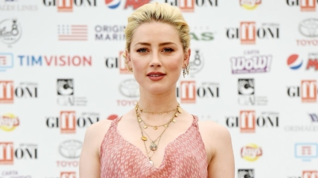 Amber Heard Topless Pics aquaman' star amber heard goes nearly topless with latest