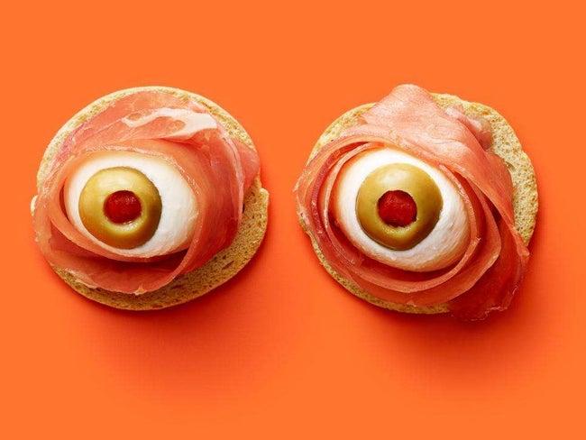 Anitpasto Eyeballs