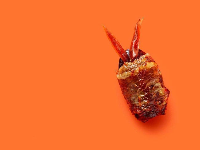 Bacon-Wrapped Date Bugs