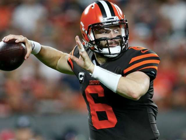 Baker Mayfield Shades Antonio Brown While Clapping Back at Instagram Troll