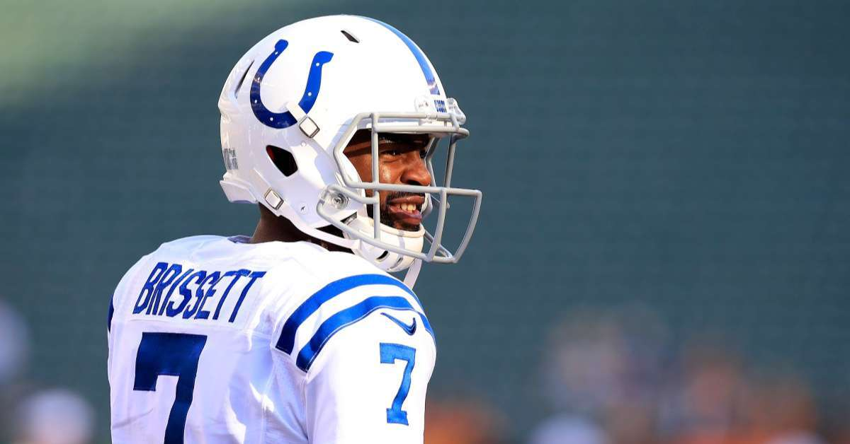 Brian Hoyer message Jacoby Brissett Andrew Luck Retirement