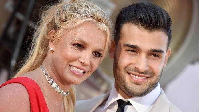 britney spears sam asghari getty images
